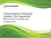 Outsmarting The Search Competition with Predatory Thinking