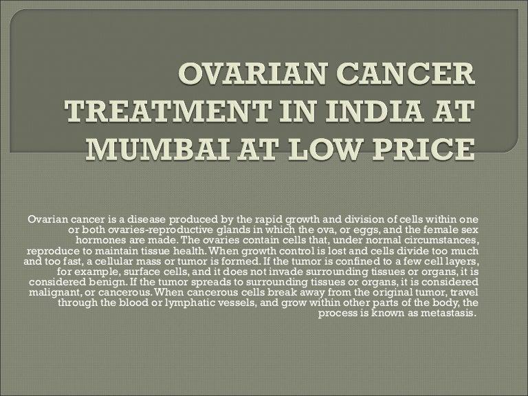 Ovarian Cancer Treatment In India At Mumbai At
