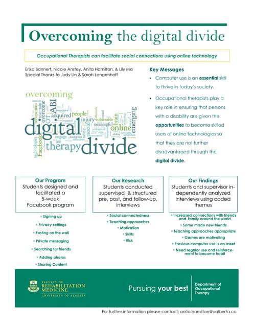 Overcoming the digital divide
