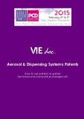 Overview of aerosol_&_dispensing_systems_patents_published_in_2014