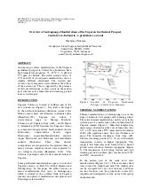 Overview of gedongsongo manifestations of the ungaran geothermal prospect,