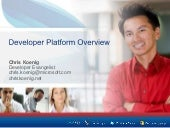 Overview Of The Microsoft Developer Platform