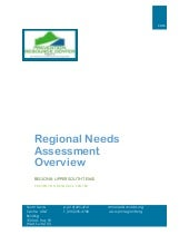 PRC Region 8 Regional Needs Assessment Overview