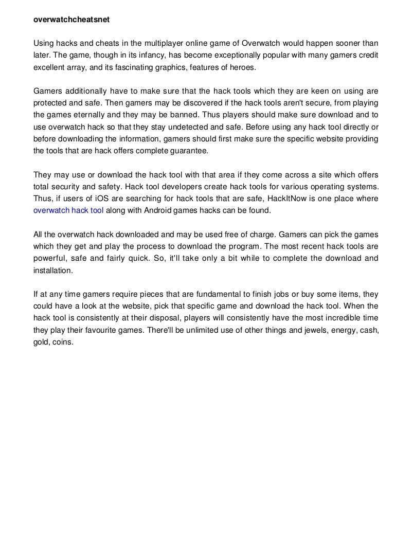 overwatchcheatsnet1187 160519104641 thumbnail 4 - Free Game Cheats