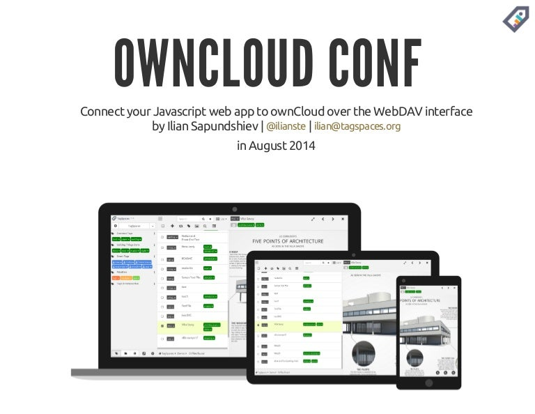 Connect your Javascript web app to ownCloud over the WebDAV