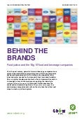 Oxfam: Behind the Brands