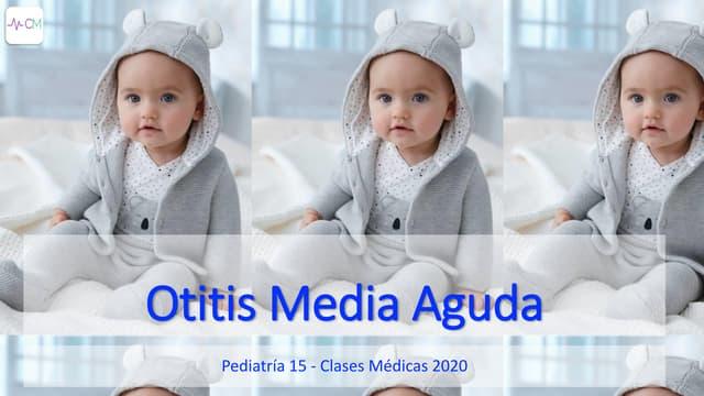 P15 Otitis Media Aguda