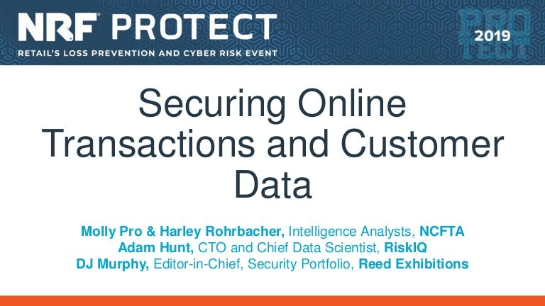 Securing Online Transactions and Customer Data