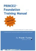PRINCE2 Foundation Training Manual by Frank Turley
