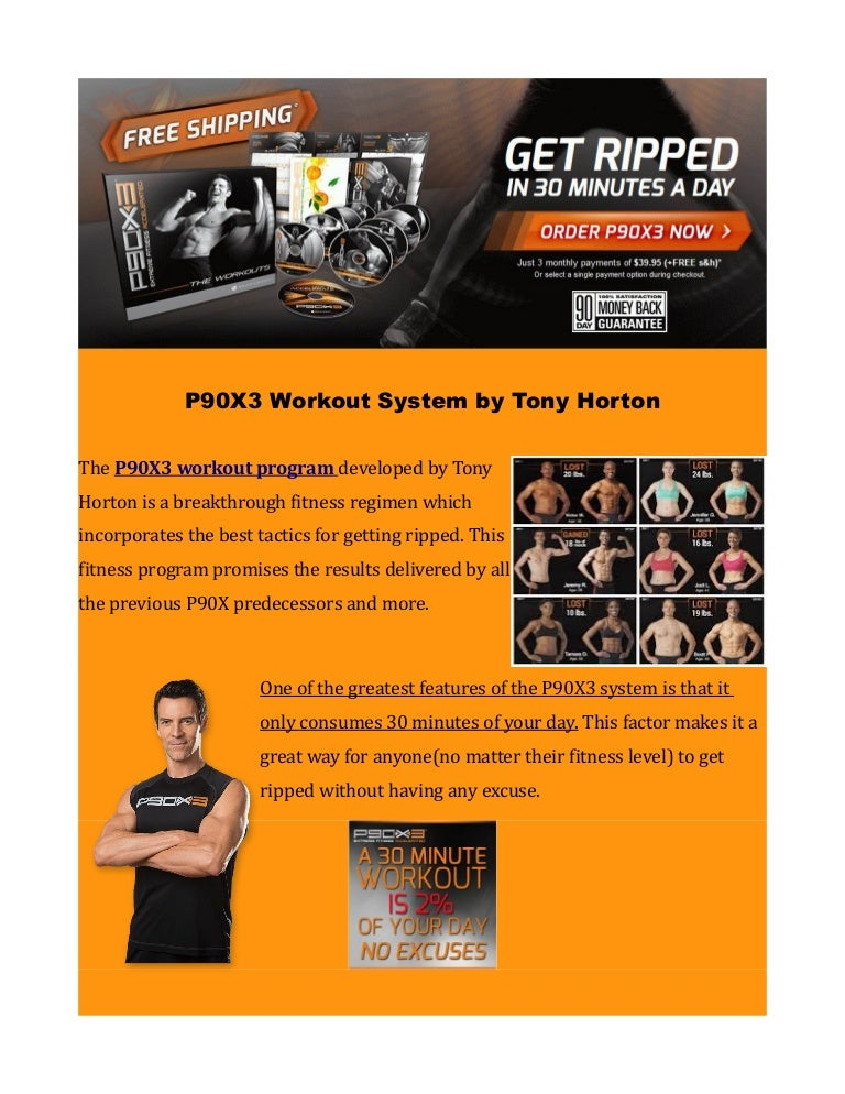 P90X3 Workout System Boasting Unprecedented Fitness Results