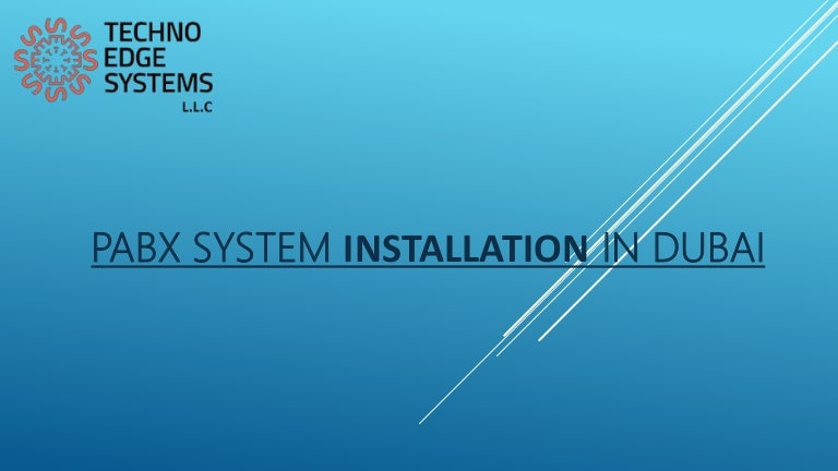 PABX installation in Dubai | PABX Services in Dubai