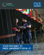 Pace University Brochure by Study Metro