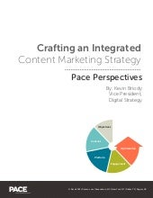 Crafting An Integrated Content Marketing Strategy
