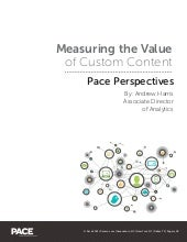 Measuring the Value of Custom Content