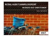 Emrooz Marketing Research Co. (EMRC) -Retail Audit - Packaged jelly confectionary Sample Report