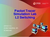 Packet Tracer Simulation Lab Layer 2 Switching