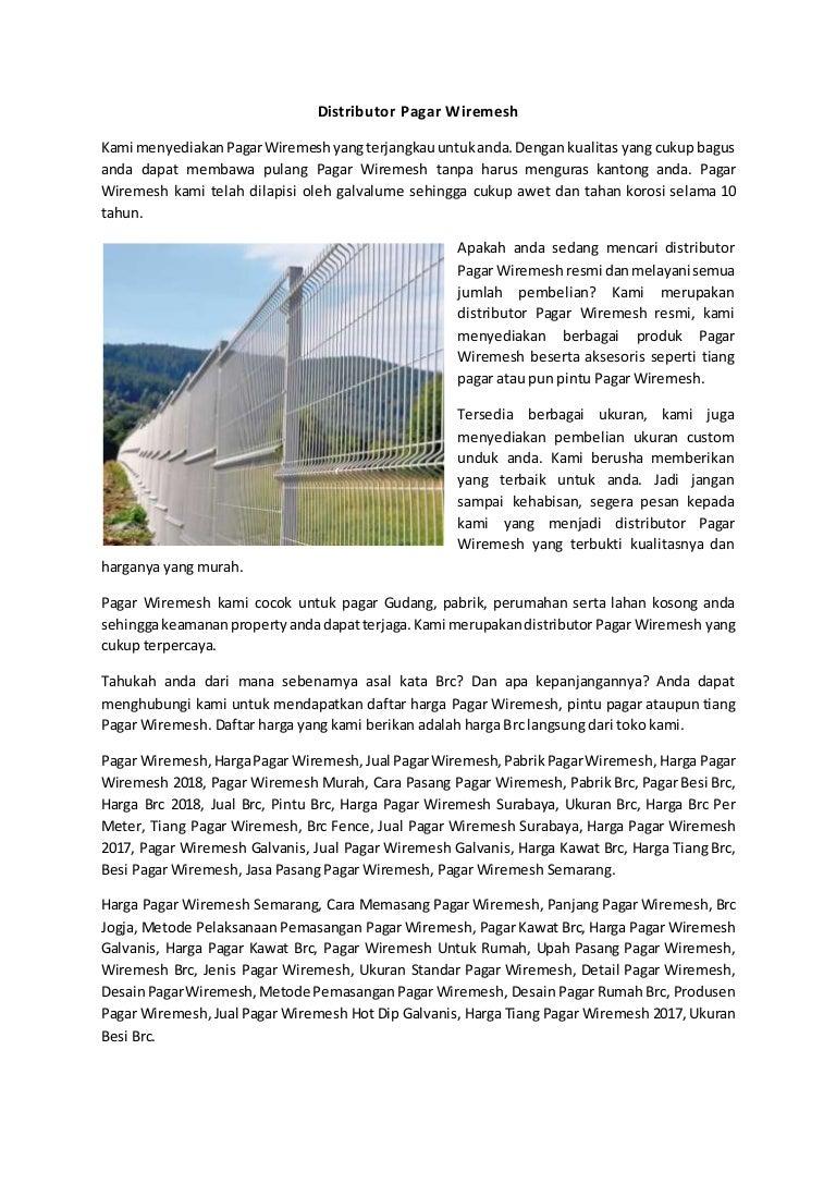 Pagar wire mesh malaysia, wa 081 3306 900 81 (tsel).