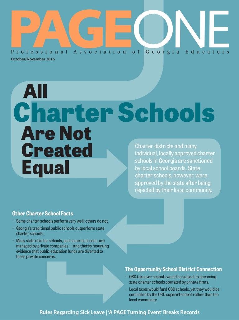 PAGE One magazine Oct-Nov 2016 issue - Amendment One column