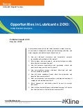 Opportunities in Lubricants 2010: India Market Analysis