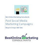 Paid Social Media Marketing Campaigns Require Unique Skill-Sets