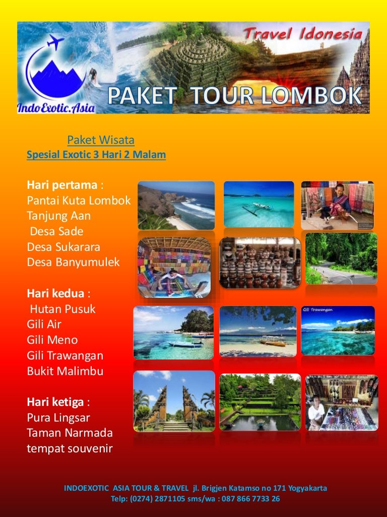 Paket Wisata Lombok Tour 3 Hari 2 Malam Paketwisatalombok 151210142620 Thumbnail 4cb1449757622