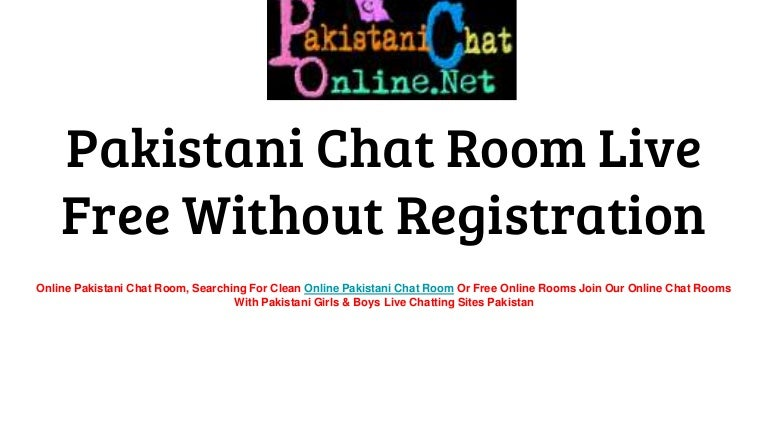 Online chat rooms without registration