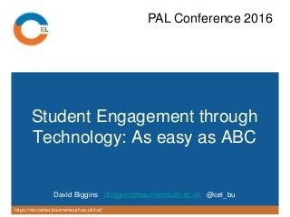 Bournemouth University   LinkedIn Peer Assisted Learning Conference at Bournemouth University     Nov         v