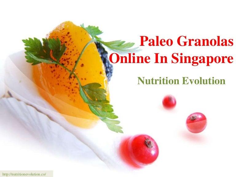 Paleo granolas online in singapore