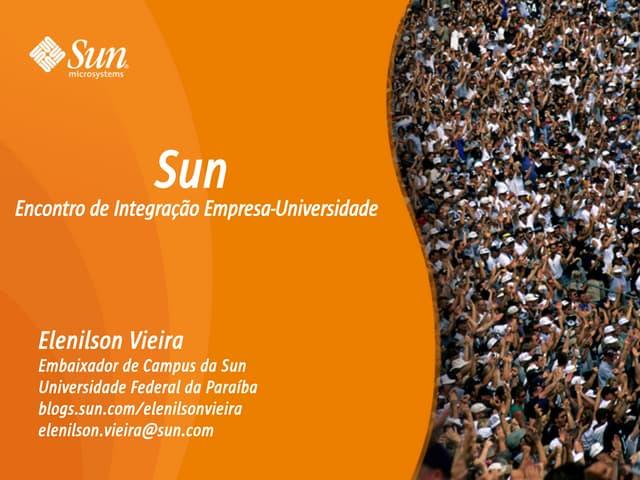 Palestra sobre a Sun
