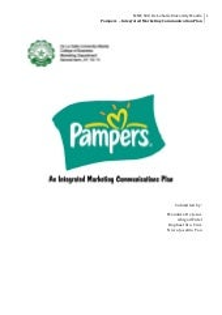 IMC 610 Integrated Marketing Communication Plan for Kmart