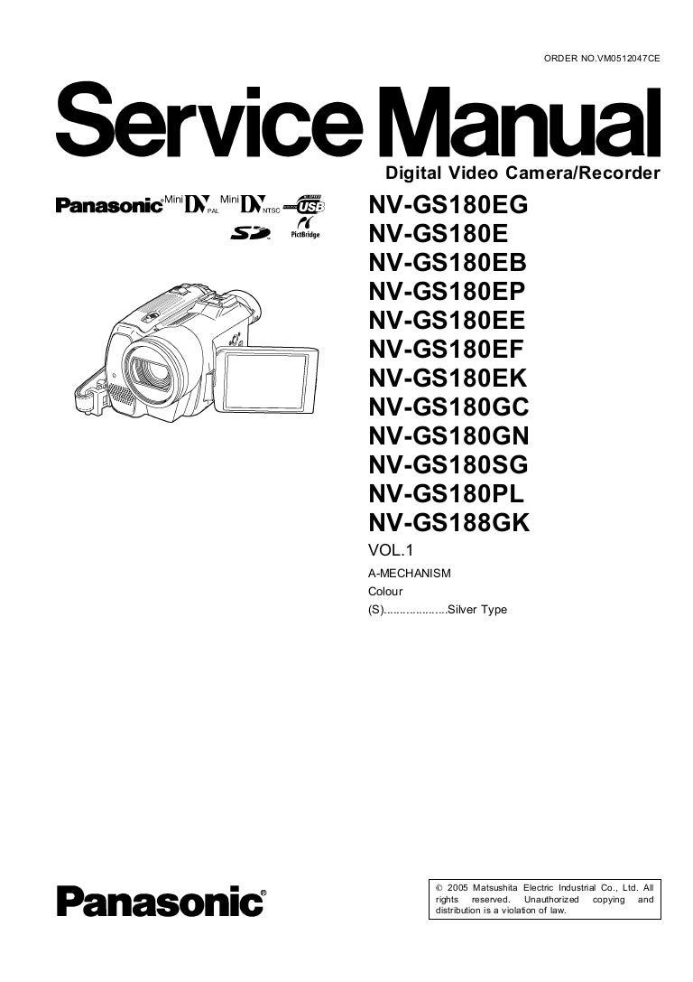 Panasonic 2173 Schematic Diagram