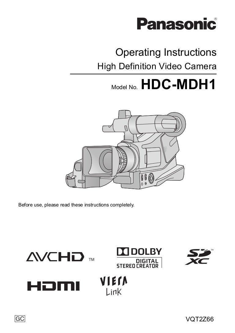 panasonic hdc mdh1 manual usuario rh slideshare net manual usuario panasonic kx-tes824 manual usuario panasonic ns500