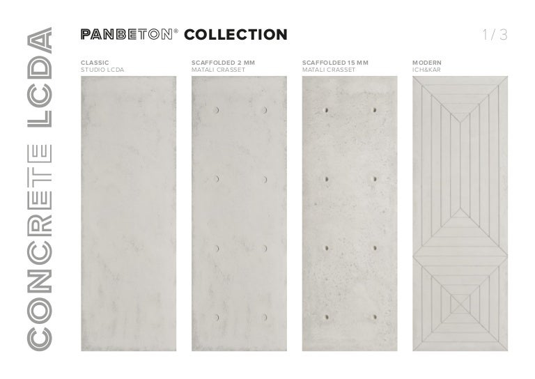 Panbeton® collection