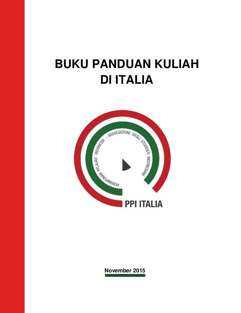 Buku Panduan Kuliah di Italia