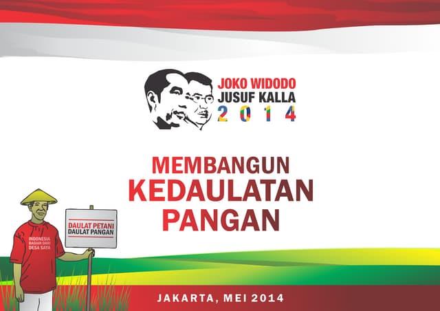 HKTI Tertarik Visi Misi Ketahanan Pangan Jokowi-JK #JokowiTelahBekerja