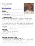 indian chef roshan xavier resume