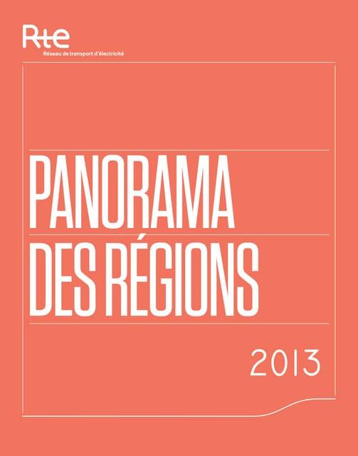 À la découverte du bilan électrique 2013 de nos régions