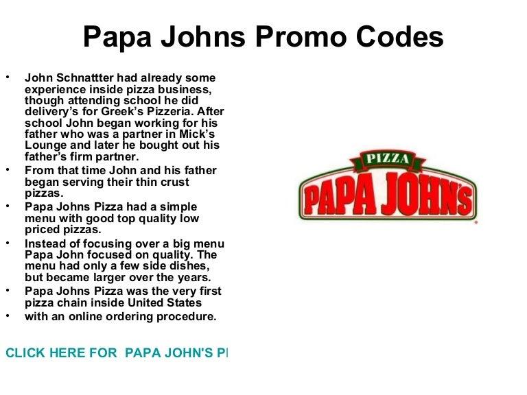 papa johns promo codes 2019 - 768×576