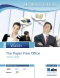 The Paper Free Office - Dream or Reality?