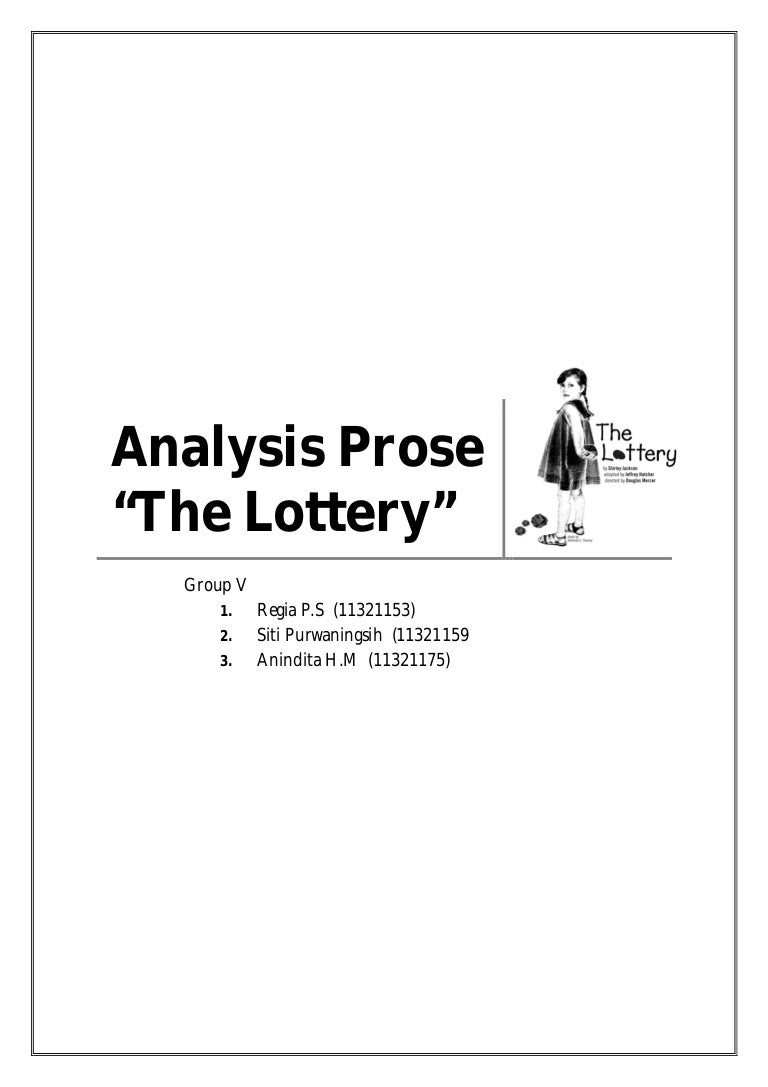 paper analysis the lottery
