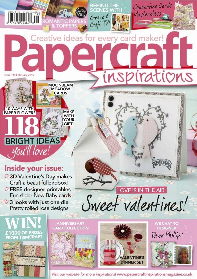 Revista papercraft inspirations revista febrero 2015 izmirmasajfo