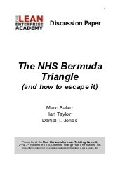 The NHS Bermuda Triangle by Marc Baker, Ian Taylor and Daniel T Jones