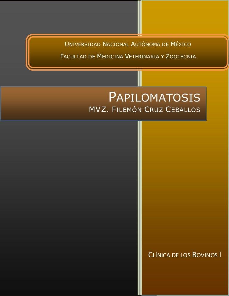 papilomatosis bovina slideshare