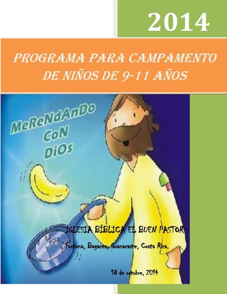 Programa De Campamento Cristiano Para Ninos De 9 11 Anos