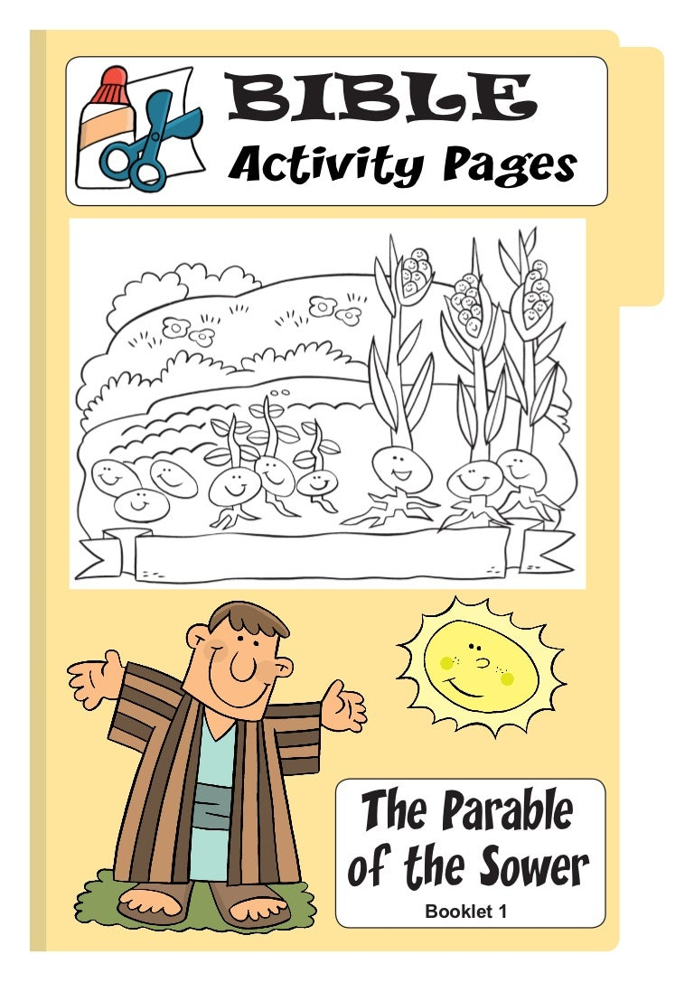 Parable Sower Booklet 1