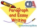 Academic Paragraph and Essay Writing rosmery bolivia
