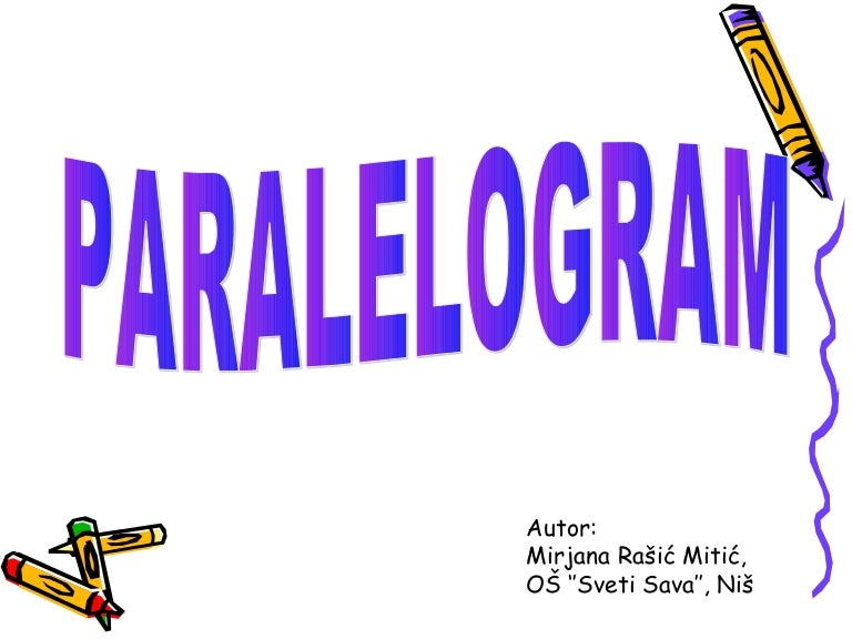 Резултат слика за paralelogram