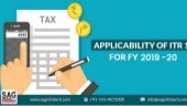 Let Us Know the Parameters For The Applicability of ITR 1 For FY 2019-20