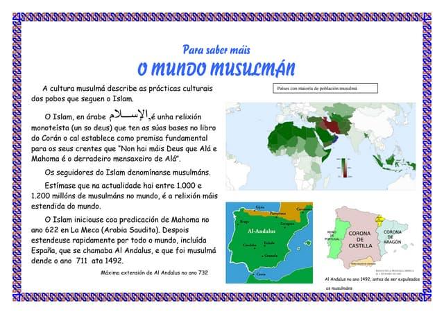 Para saber máis dos musulmáns