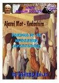 Parasha nº 30 kedoshim 20 abril 13